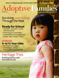 Adoptive Families Oct 2009